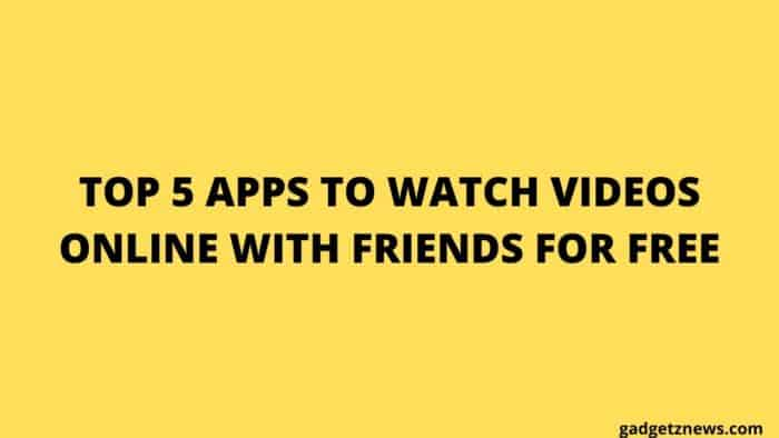 apps to watch videos online