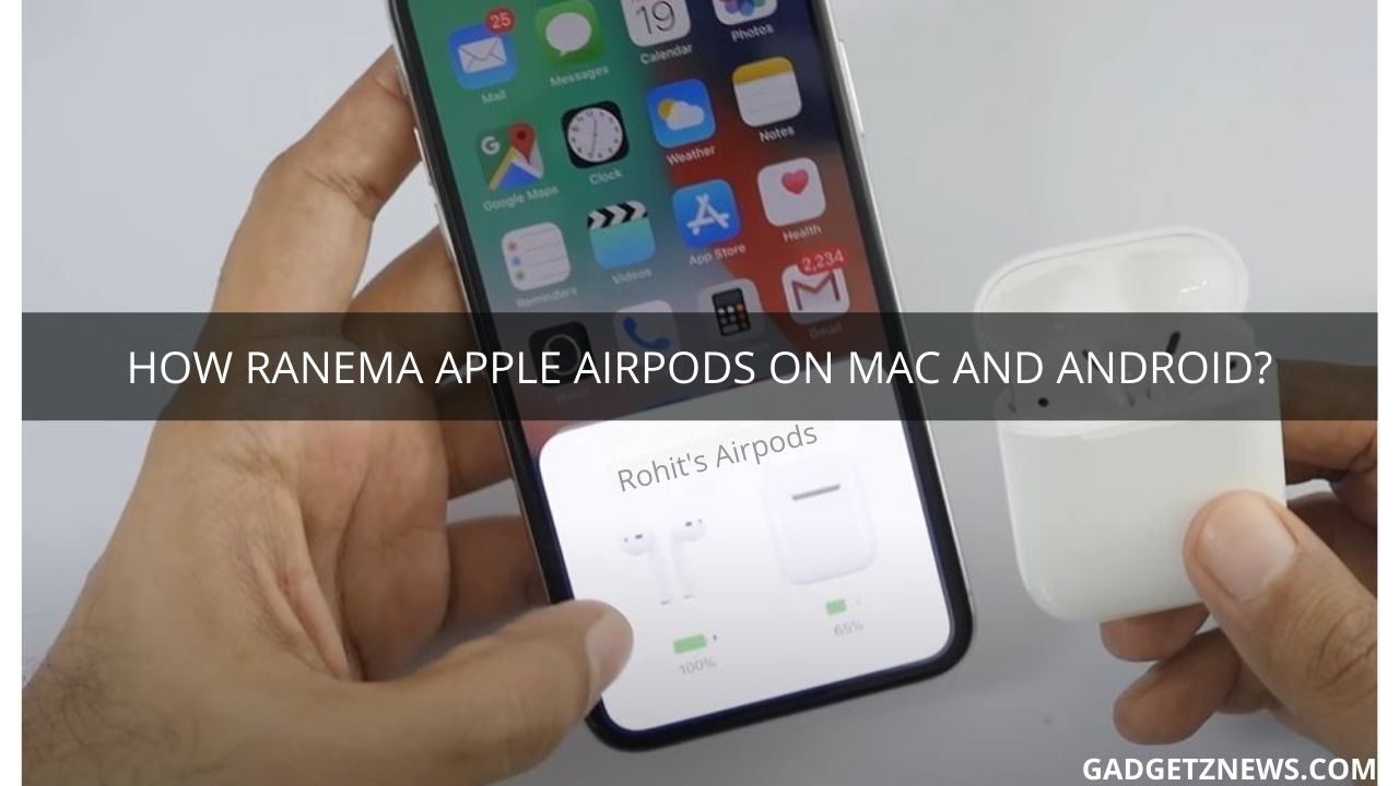 rename apple airpods